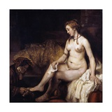 Bathsheba with David's Letter Giclee Print by  Rembrandt van Rijn