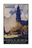 Holland for the Holidays Poster Giclee Print by Joseph Rovers