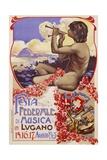 Festa Federale Di Musica in Lugano Poster Giclee Print
