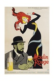 Moulin Rouge Movie Poster Giclee Print