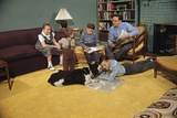 Family Sitting around Living Room Photographic Print by William P. Gottlieb