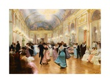 The Ball Giclee Print by Victor Gilbert