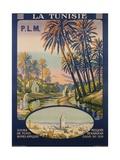 La Tunisie Poster Giclée-tryk af Constant Duval