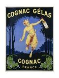Cognac Gelas Poster Lámina giclée