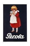 Perola Hot Chocolate Advertisement Poster Giclee Print