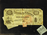 The Ten Dollar Bill Photographic Print by Nicholas Alden Brooks