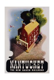 Nantucket Poster Giclee Print by Ben Nason