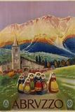 Abruzzo Poster Photographie par  Alicandri
