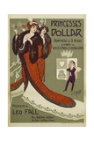 Princesses Dollar Poster Giclee Print by Clerice Freres