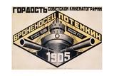 Battleship Potemkin 1905 Poster Giclee Print by Alexander Rodchenko
