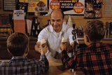 Man Handing Children Ice Cream Cones Photographic Print by William P. Gottlieb