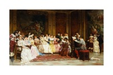 The Concert Giclee Print by Joseph Frederic Charles Soulacroix