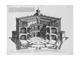 Palazzo Di Caprarola: Li Giardini Di Roma Giclee Print by Giovanni Battista Falda