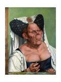 A Grotesque Old Woman Giclee Print by Quentin Massys