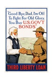 Third Liberty Loan Poster Giclee Print by Laurence Harris