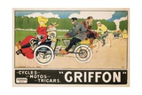 Griffon Poster Giclee Print by Walter Thor