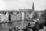 Tourist Photo in the Netherlands, Ca. 1910 Photographic Print