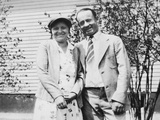 Happy Young Couple, Ca. 1930 Photographic Print