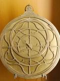 Gilt Brass Planispheric Astrolabe Photographic Print by Jean Naze
