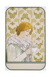 Art Nouveau Poster Advertising Hot Chocolate Giclee Print