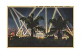 Hollywood Postard Giclee Print