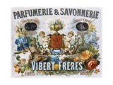 Parfumerie and Savonnerie - Vibert Freres Poster Giclee Print by L. Marx