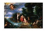 An Allegory of the Elements Giclee Print by  Jan Brueghel and Hendrik van Balen