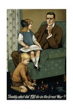 Daddy, What Did You Do in the Great War Poster Giclee Print