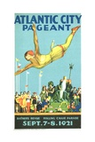 Atlantic City Pageant Poster Giclee Print
