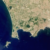 Naples and the Campi Flegrei Volcanic Region Photographic Print