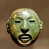Xipe Totec Mask Photographic Print