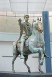 Equestrian Statue of Marcus Aurelius at Capitoline Museum Photographic Print