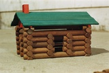 Toy Log Cabin Photographic Print by William Gottlieb