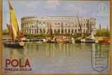 Pola Venezia Giulia Poster Photographic Print by Leopoldo Metlicovitz