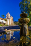 Mission Santa Barbara, Santa Barbara, California Usa Photographic Print