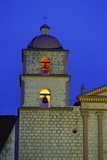 Bell Tower of the Santa Barbara Mission Church Photographic Print by Bruce Burkhardt
