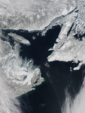 Sea Ice in the Gulf of St. Lawrence Photographic Print