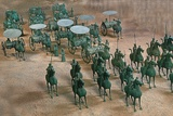 Eastern Han Dynasty Bronze Cavalry and Chariots Photographic Print