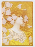 Sarah Bernhardt Poster Photographic Print by Paul Berthon