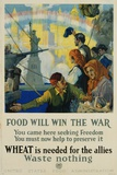 Food Will Win the War Poster Photographic Print by Charles Edward Chambers