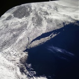 Long Island Seen from Orbit Photographic Print