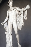 Roman Copy of Apollo Belvedere Photographic Print by  Leochares