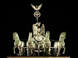 Quadriga Photographic Print by Johann Gottfried Schadow