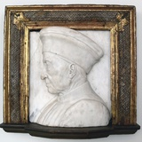 Portrait of Cosimo De Medici Photographic Print by Andrea del Verrocchio