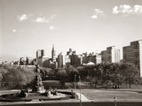 1960s Skyline Philadelphia Pennsylvania Usa Photographic Print