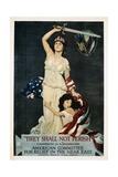 They Shall Not Perish Relief Poster Reproduction procédé giclée par Douglas Volk