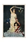 They Shall Not Perish Relief Poster Giclee Print by Douglas Volk