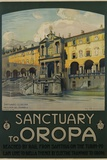 Sanctuary to Oropa Poster Photographic Print by G. Bozzalla