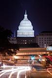 Capitol Building, Washington, DC Photographic Print by Paul Souders