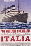 Italia Poster Photographic Print